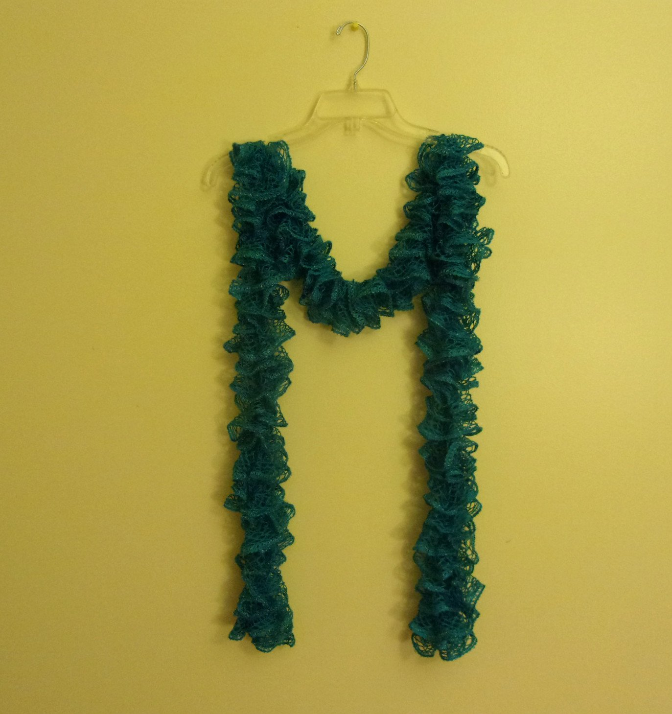 Women's Teen Ruffle Scarf Scarves Turquoise