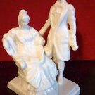 "Rare Vintage USSR russian Soviet porcelain figurine ""Onegin and Tatiana"""