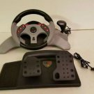 Mad Catz MC2 Xbox 360 Racing Steering Wheel w/ Pedals