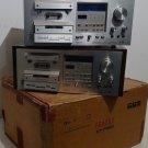 Lot of (2x) Pioneer CT-F950 Vintage Cassette Deck 3-Head w/ Orig Box