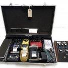 Moog MF-102, Boss, Ernie Ball, Danelectro, MXR TC (9) Effect Pedals and Case Lot