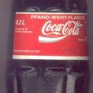 1997 Bottle of Coke from Germany
