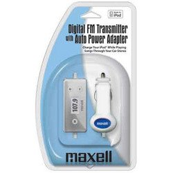 Maxell iPod Digital FM Transmitter/Charger