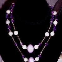 Lavander Dreams - Designer Handcrafted Necklace