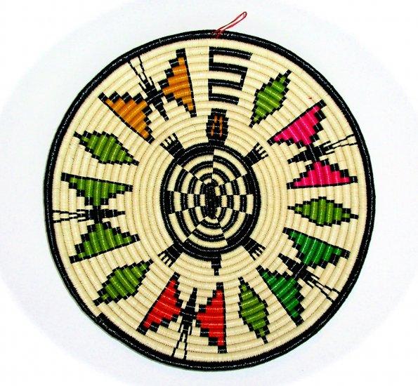 Wounaan & Embera Indian Woven Plate