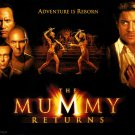 $15 The Mummy Returns Collectors DVD - $2 Ships with booklet Must See Movie !