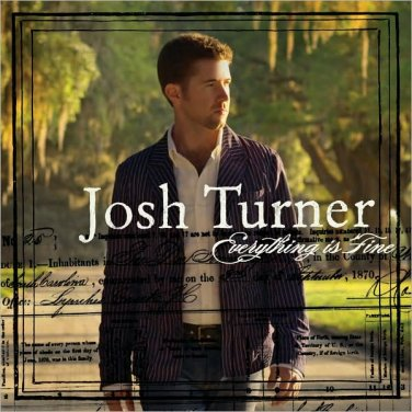 "$17 Josh Turner ""Everything"" Country Hits CD  + Free Bonus CD = $3 Shipping !"