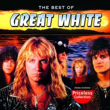 """$16 GREAT WHITE """"Best of"""" Rock Hits CD + Free Rock Mix CD + $3 First Class Ship"""