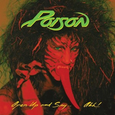 $24 1st Pressing Poison CD w Original Tongue Cover Rare Out of Print + Free CD !