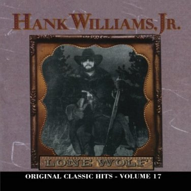 $16 Hank Williams Jr. Lone Wolf Hits CD + Free Country Hank Jr Mix CD $3 Ships 2
