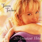 "$18 Tanya Tucker ""20 Greatest"" All Hits CD $3 Ships + FREE Country Music CD Mix"
