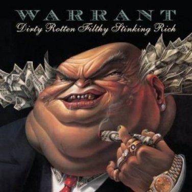 "$17 WARRANT ""Dirty Rotten"" Hits CD + Free Bonus Metal Mix CD * $3 Ships 2 CD's"