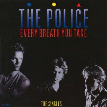"$17 POLICE ""Every Breath You Take: The Singles"" Hits CD + FREE Bonus Rock Mix !"