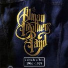 "$15 The Allman Brothers ""Decade of Hits 1969-1979"" CD + Bonus Free Rock Mix CD"