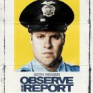 "$15 Used ""Observe and Report"" Seth Rogen (Interview) Funny Comedy DVD $2 Ships"