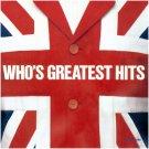 $16 Who's Greatest Hits CD + Free Bonus Classic Rock Mix CD $3 Ships 2 CD