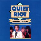 "$16 Quiet Riot ""Winners Take All"" Hits CD + Free Bonus Rock Mix CD $3 Ships 2 !"