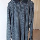 Matinique Men Shirt Size Small S Zip front black Polo style