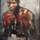 The Legend Muhammad Ali Mohammad with Stephen Holland Signed Giclee on Canvas