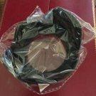Black Screw Mounted Plastic DC 58mm Flower Lens Hood for Universal SLR Camera