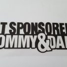 JDM NOT SPONSORED Sticker Racing Decal for JDM