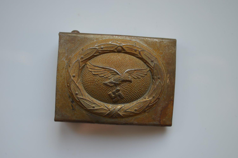 WWII THE GERMAN BUCKLE LUFTWAFFE STEEL
