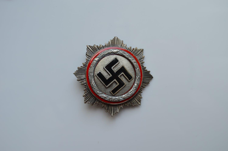 WWII NAZI SILVER GERMAN CROSS