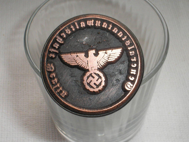 WWII GERMAN STAMP GENERALSTAATSNWALTSCHAFT BERLIN