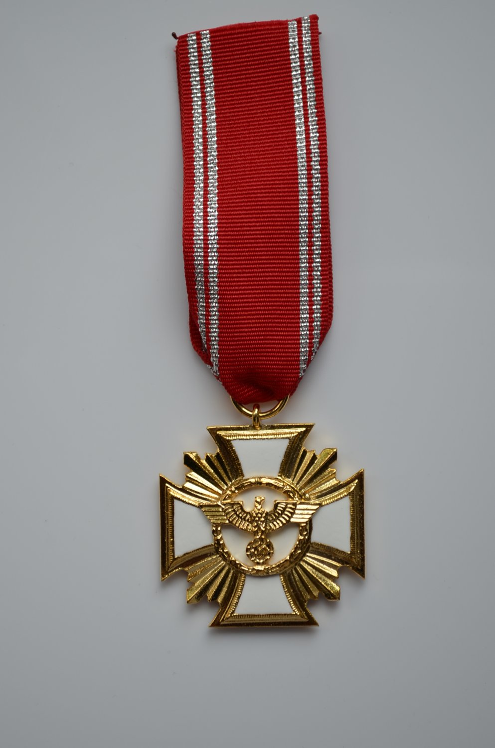 WWII THE GERMAN GOLD MEDAL LONG SERVICE AWARDS OF THE NSDAP