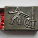 WWII THE GERMAN HOLDER/COVER ON MATCHBOX SA ALLES FUR DEUTSCHLAND