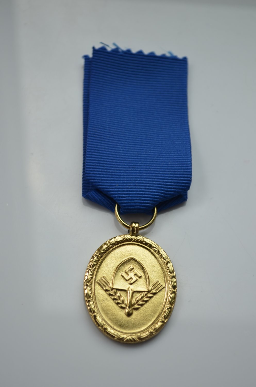 WWII GERMAN GOLD MEDAL LONG SERVICE AWARDS OF THE RAD