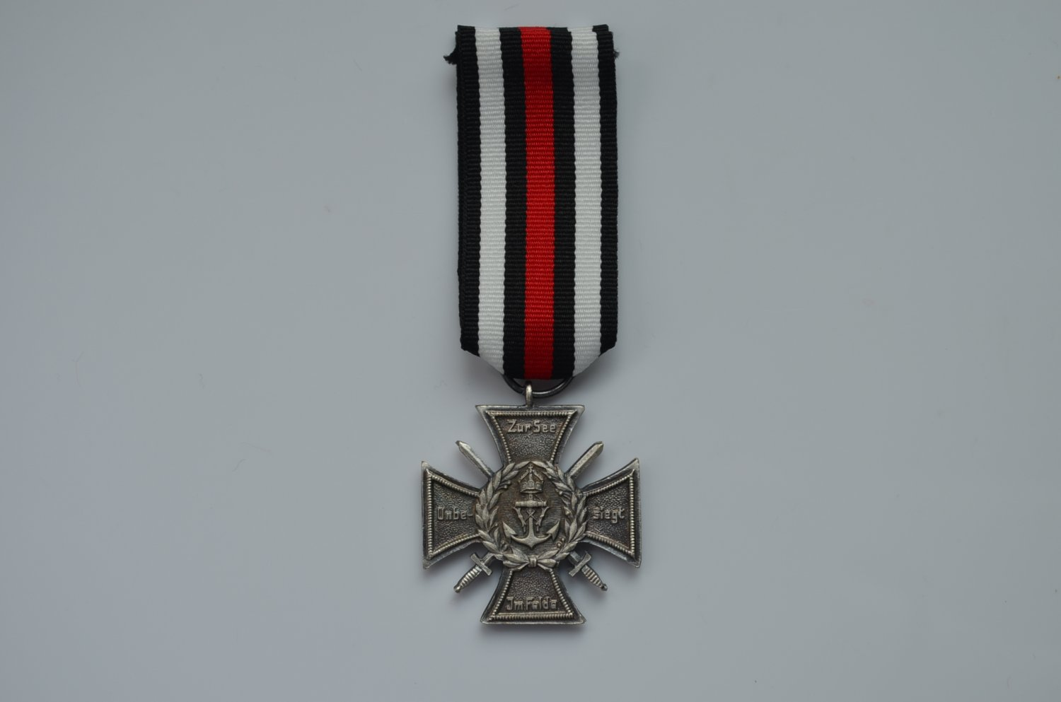WWI German silver Imperial Naval Corps Flanders Cross