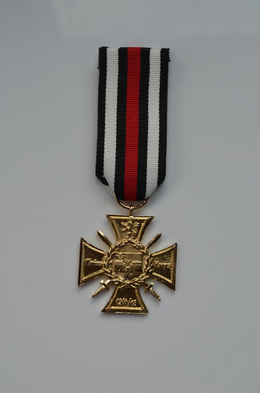 WWI German gold Imperial Naval Corps Flanders Cross