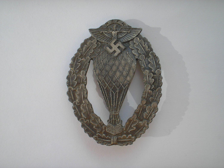 WWII THE GERMAN BADGE NSFK FREE BALLOON PILOTS