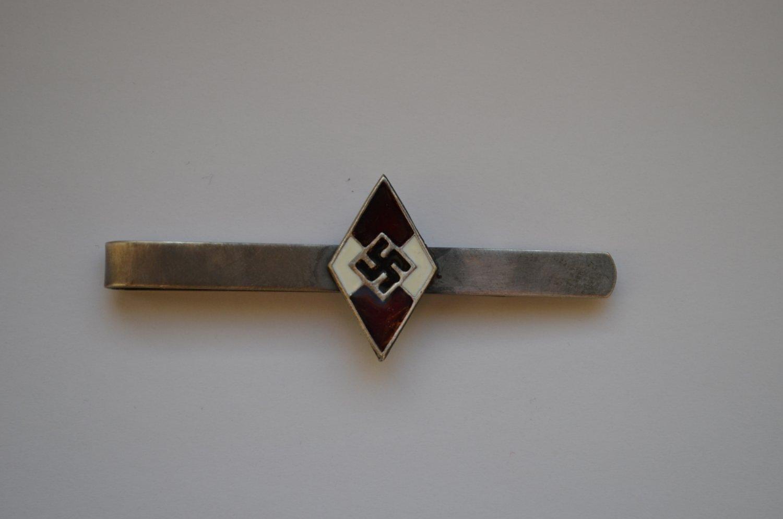 WWII GERMAN TIE CLIP HITLERJUGEND HJ