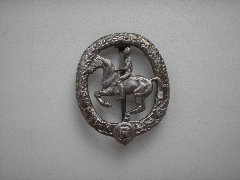 WWII THE GERMAN BADGE HORSEMAN'S