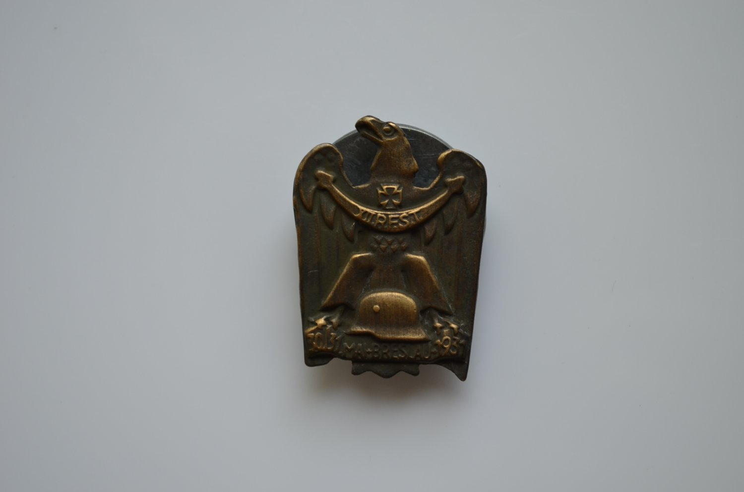 WWII GERMAN BADGE XII R.F.S.T 30/31 MAI BRESLAU 1931