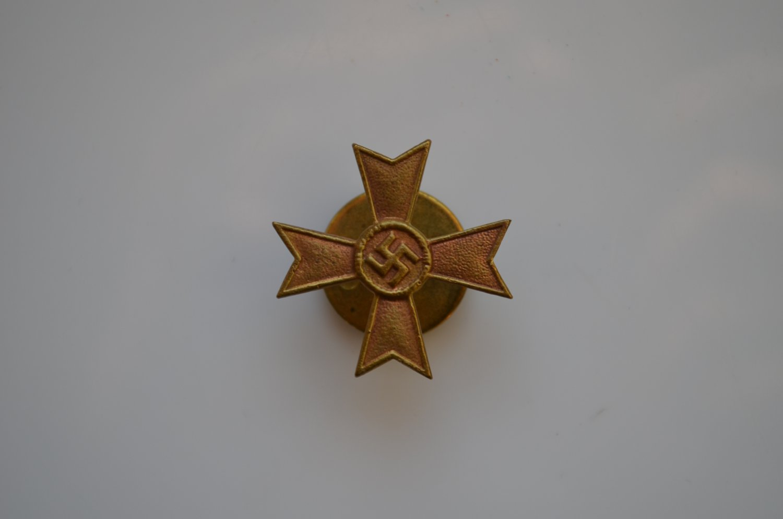 WWII THE GERMAN MINIATURE WAR MERIT CROSS