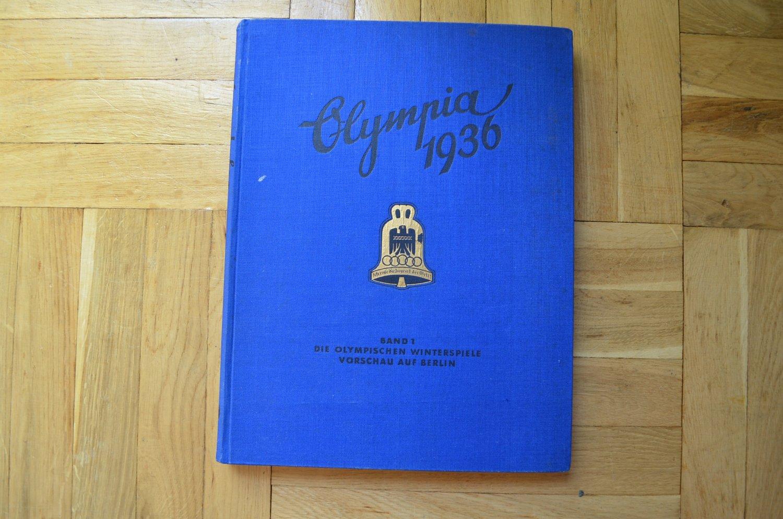 WWII ORIGINAL GERMAN ALBUM OLYMPIA 1936 BAND I