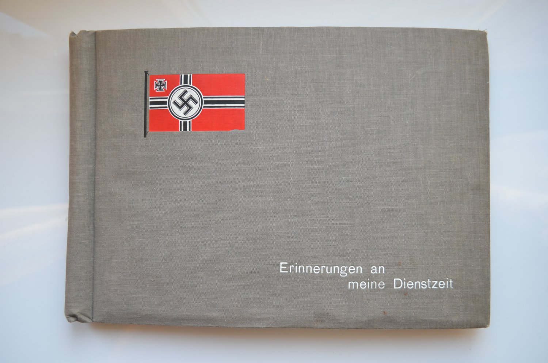 WWII WW2 GERMAN ORIGINAL PHOTO ALBUM KRIEGSMARINE
