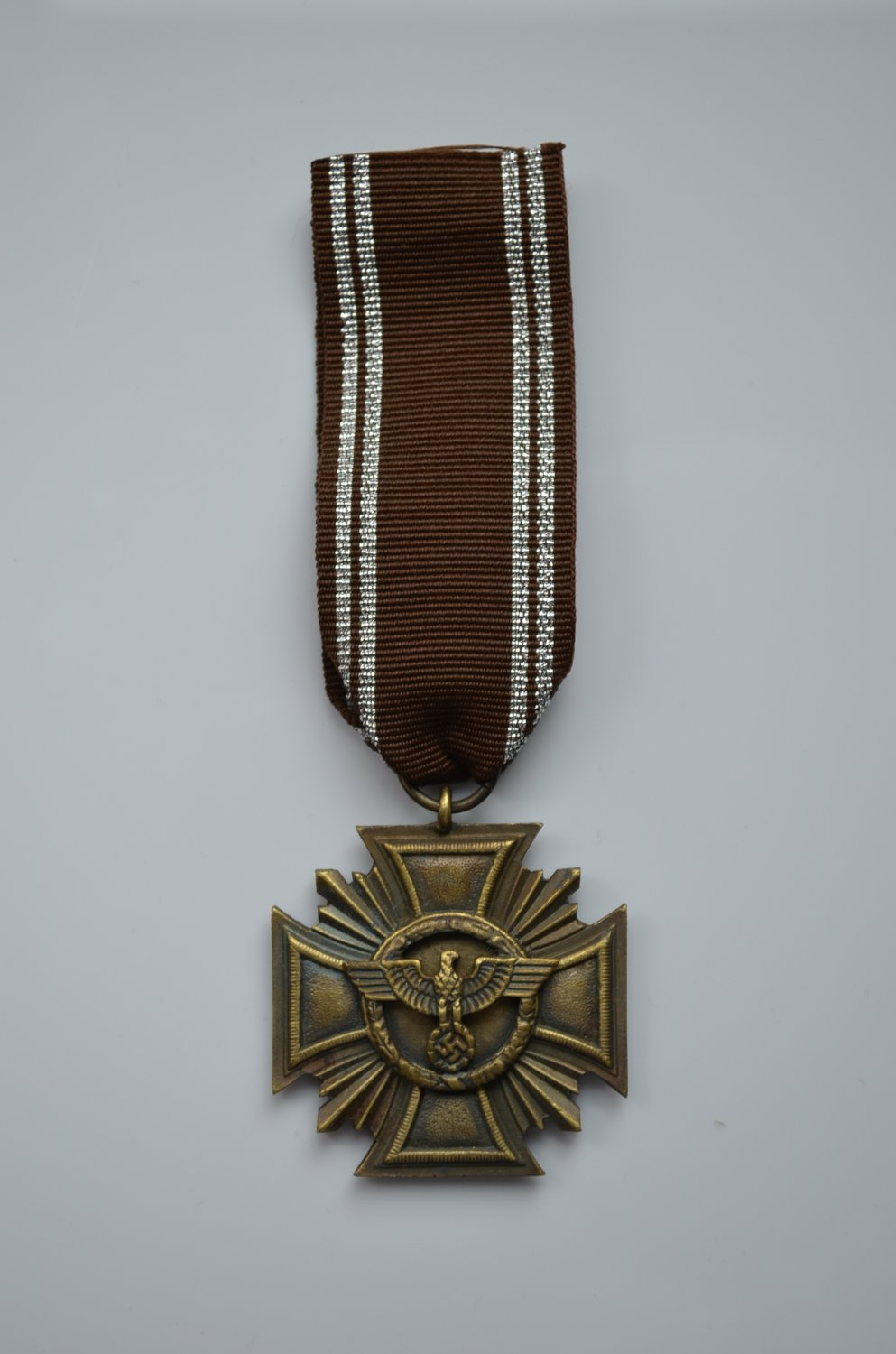 WWII THE GERMAN BRONZE MEDAL LONG SERVICE AWARDS OF THE NSDAP