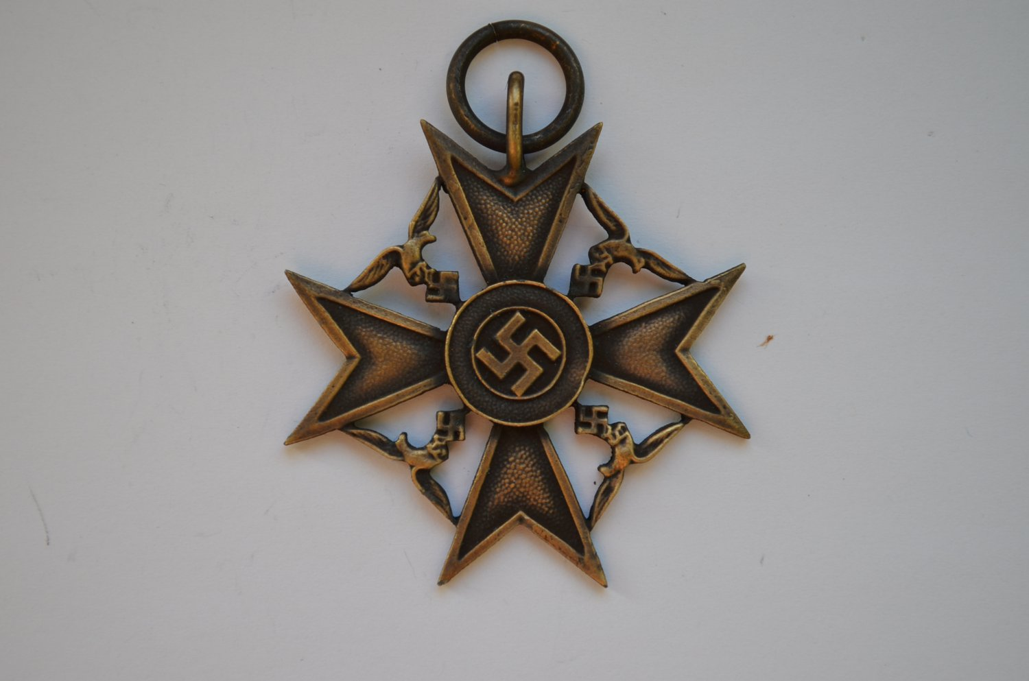 WWII THE GERMAN SPANISH CROSS FOR NEXT OF KIN