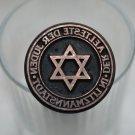 WWII GERMAN STAMP DER AELTESTE DER JUDEN IN LITZMANNSTADT