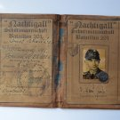 WWII AUSWEIS NACHTIGALL SCHUTZMANNSCHAFT BATAILLON 201