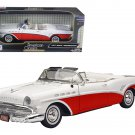 1957 Buick Roadmaster Convertible Red 1/18 Diecast Model Car by Motormax
