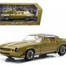 1981 Chevrolet Camaro Z/28 Gold Metallic 1/18 Diecast Model Car by Greenlight