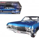 1967 Chevrolet Impala SS 427 Vinyl Roof Limited Edition 1/18 Diecast Model Car by Autoworld