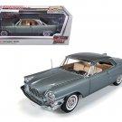 1957 Chrysler 300C Hemi Grey Limited to 1500pc  1/18 Diecast Model Car by Autoworld