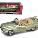 1960 Chrysler 300F Green 1/18 Diecast Car Model by Road Signature