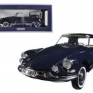 1961 Citroen DS19 Cabriolet Convertible Royal Blue 1/18 Diecast Model Car by Norev